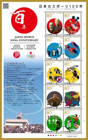 「日本のスポーツ100年」の発行